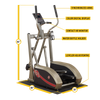 Image of Body Solid - BEST FITNESS ELLIPTICAL - ENVIOUS BODY