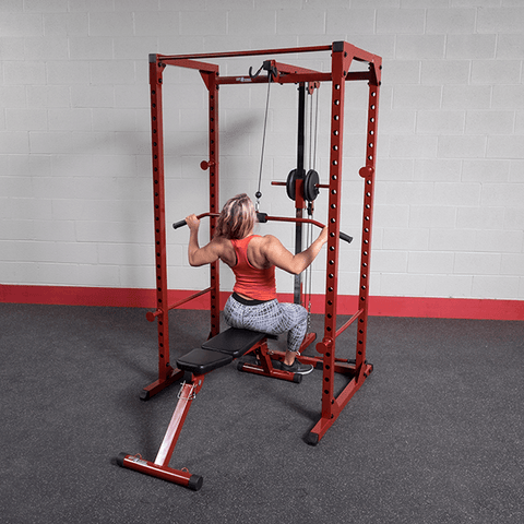 Body Solid - Best Fitness Lat Attachment for BFPR100 - ENVIOUS BODY