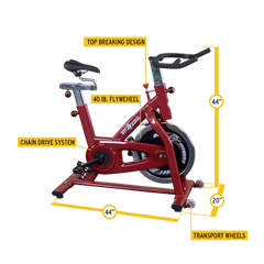 Body Solid - Best Fitness Chain Indoor Exercise Bike