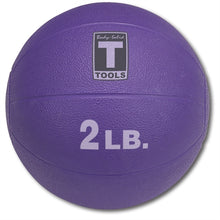Body Solid - 2lb. Medicine Ball - Lt. Purple - ENVIOUS BODY