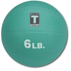 Image of Body Solid - 6lb. Medicine Ball - Aqua