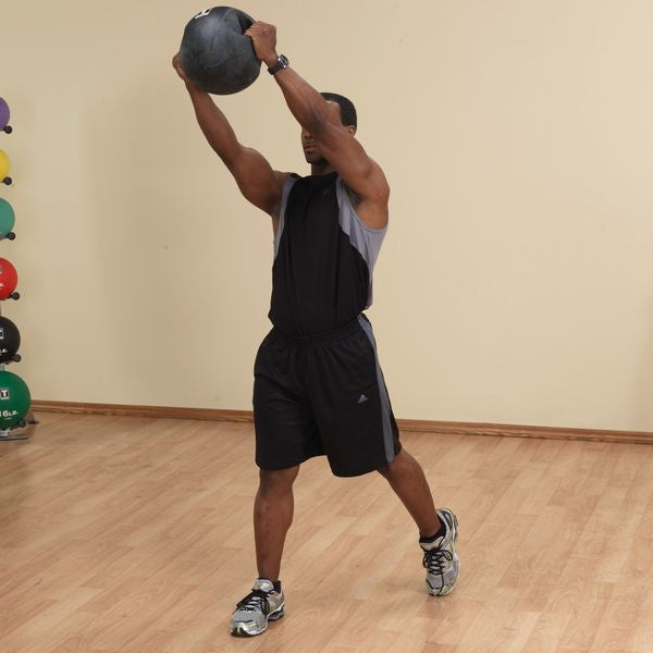 Body Solid - 20lb. Dual Grip Medicine Ball - ENVIOUS BODY
