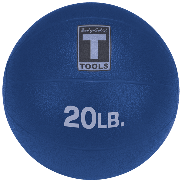 Body Solid - 20LB DARK BLUE Medicine Ball - ENVIOUS BODY