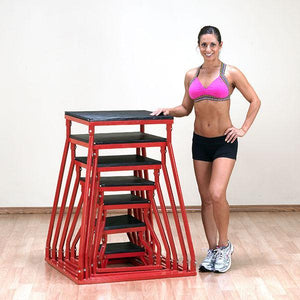 Body Solid - Set 6-42 PLYO BOX SET - ENVIOUS BODY