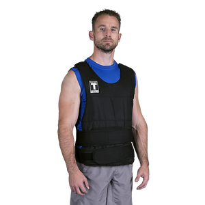 Body Solid - PREMIUM ADJUSTABLE WEIGHTED VEST, 20LBS - ENVIOUS BODY