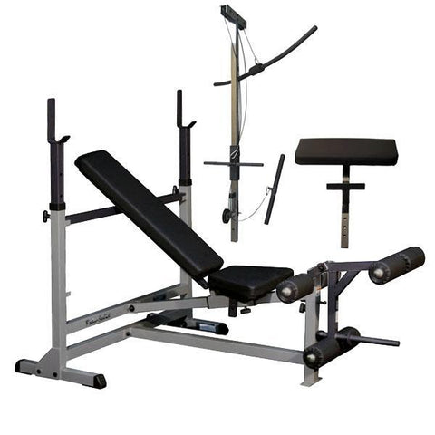 Body Solid - POWER CTR BENCH PAKCAGE - ENVIOUS BODY