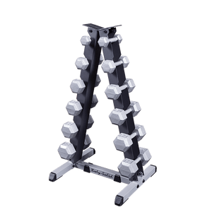 Body Solid - 2 Tier Vertical Dumbell Rack - ENVIOUS BODY