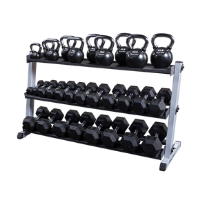 Body Solid - 2 Tier Horizontal Dumbell Rack - ENVIOUS BODY