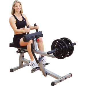 Body Solid - COMMERCIAL SEATED CALF RAISE - ENVIOUS BODY