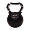 Image of Body Solid - Chrome Handle, Rubberized Kettle Bell Set 5-50 Singles - ENVIOUS BODY
