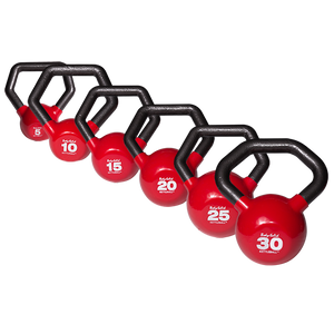 Body Solid - Vinyl Dipped Kettleball Set 5-30 - ENVIOUS BODY