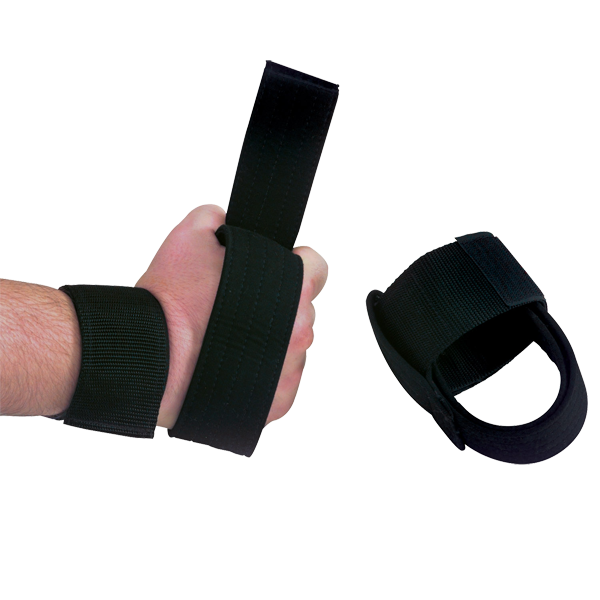 Body Solid - Pair Nylon Power Lifting Straps - ENVIOUS BODY