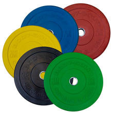 Body Solid - 10LB. CHICAGO EXTREME COLORED BUMPER PLATES OBPXC10 - ENVIOUS BODY