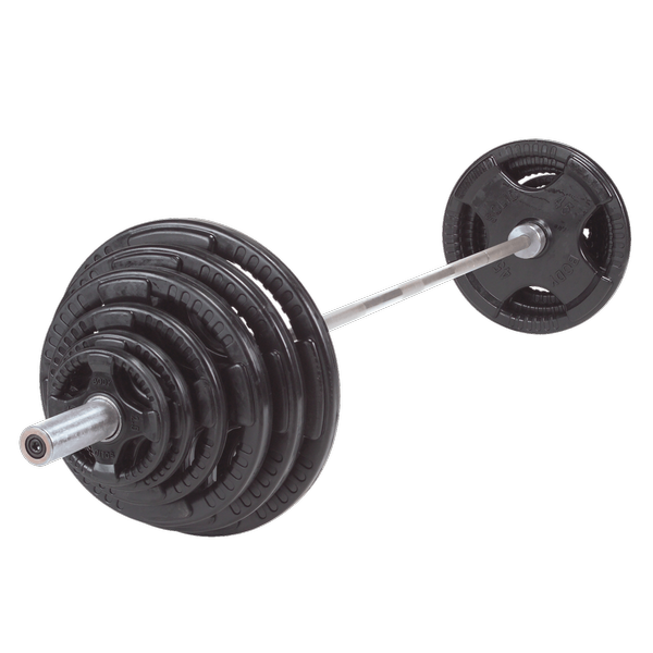 Body Solid - 300 LB. RUBBER GRIP OLYMPIC SET - ENVIOUS BODY