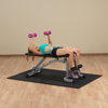 Image of Body Solid - POWER LINE FLAT INC/DECLINE UTILITY BENCH - ENVIOUS BODY