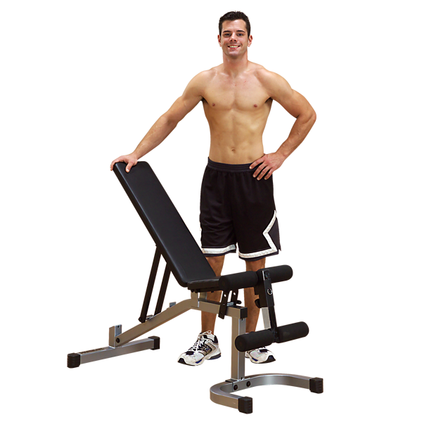 Body Solid - POWER LINE FLAT INC/DECLINE UTILITY BENCH - ENVIOUS BODY