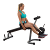 Image of Body Solid - POWER LINE LEG CURL LEG EXTENSION MACHINE - ENVIOUS BODY
