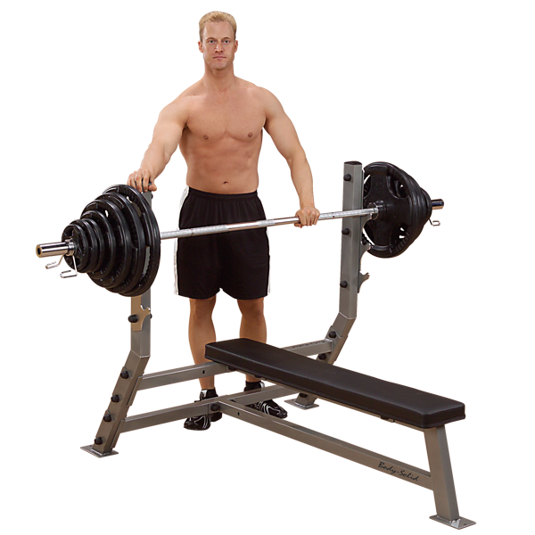Body Solid - FLAT OLYMPIC BENCH - ENVIOUS BODY