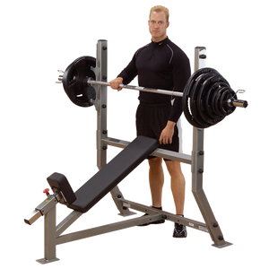 Body Solid - DELUXE 2*3 FLAT/INCLINE BENCH - ENVIOUS BODY