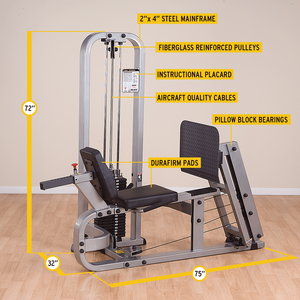 Body Solid - LEG PRESS MACHINE - ENVIOUS BODY