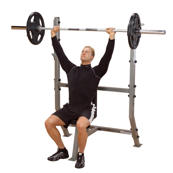 Body Solid - SHOULDER PRESS OLYMPIC BENCH - ENVIOUS BODY