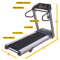 Body Solid - T10 Treadmill