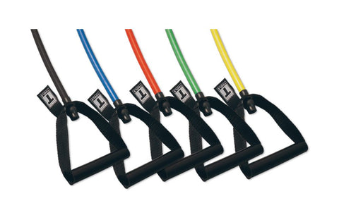 Body Solid - 5 PACK RESISTANCE TUBES, INCLUDES BSTRT1,2,3,4,5 - ENVIOUS BODY
