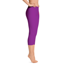 Woman's - Purple EnviousBody Capri Leggings