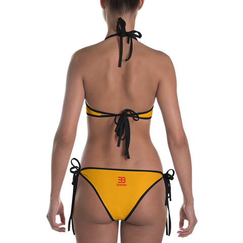Woman's - EnviousBody Orange Bikini