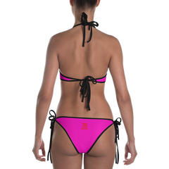 Woman's - EnviousBody Pink Bikini