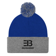 EnviousBody - Pom Pom Knit Beanie