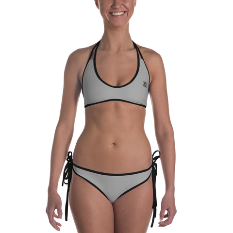 Woman's - EnviousBody Dark Grey Bikini