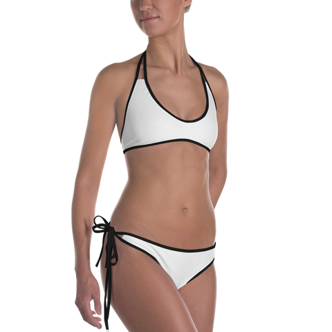 Woman's - EnviousBody White Bikini