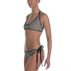 Woman's - EnviousBody Grey Bikini
