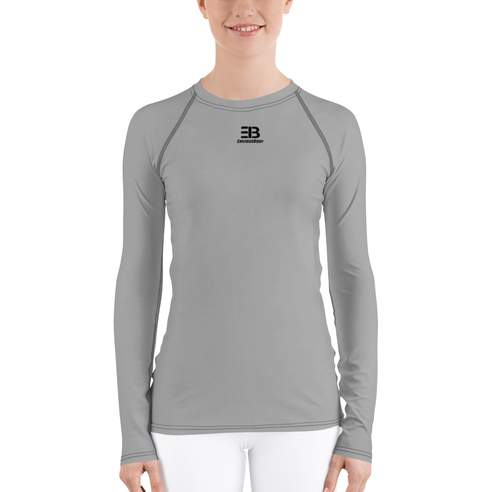 WOMAN'S - DARK GREY ENVIOUSBODY RASH GUARD