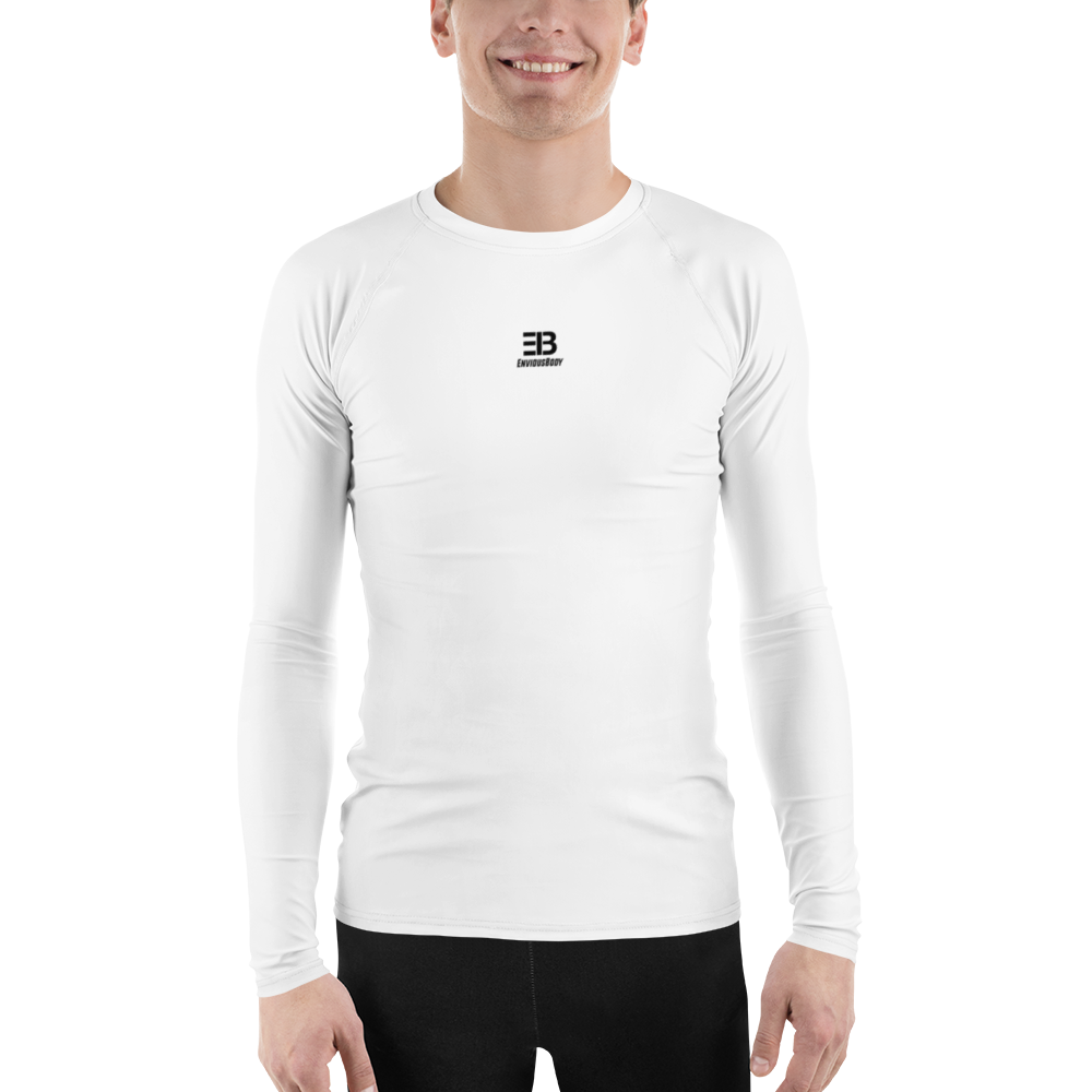MEN'S - WHITE ENVIOUSBODY RASH GUARD