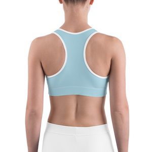 Woman's - Light Blue EnviousBody Sports bra