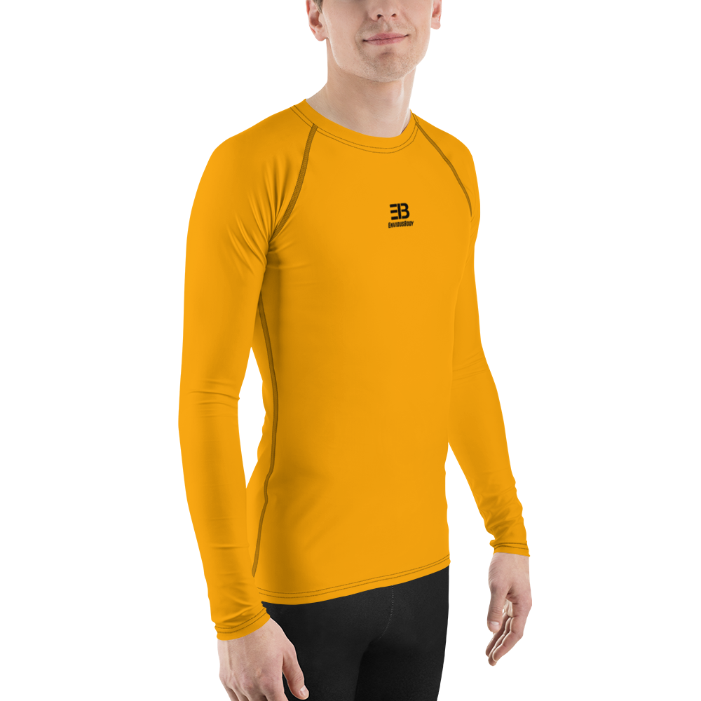 MEN'S - ORANGE ENVIOUSBODY RASH GUARD