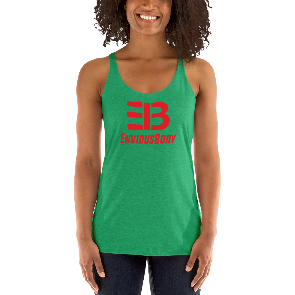 Woman's - Enviousbody Racerback Tank Top Big Collection