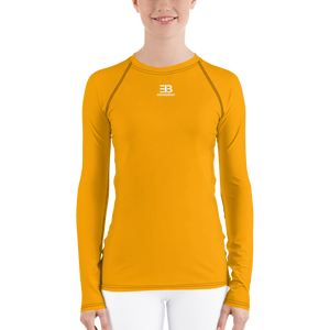 WOMAN'S - ORANGE ENVIOUSBODY RASH GUARD
