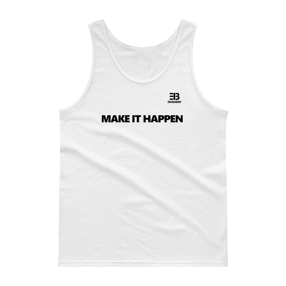 Men's - Enviousbody Cotton Fitted Tank top Fresh Look Make It Happen Collection