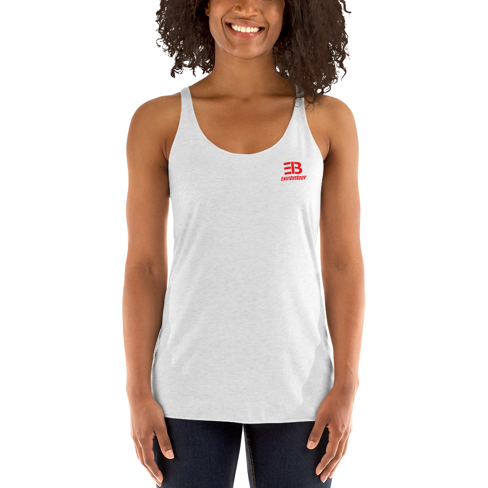 Woman's - EnviousBody Racerback Tank Top