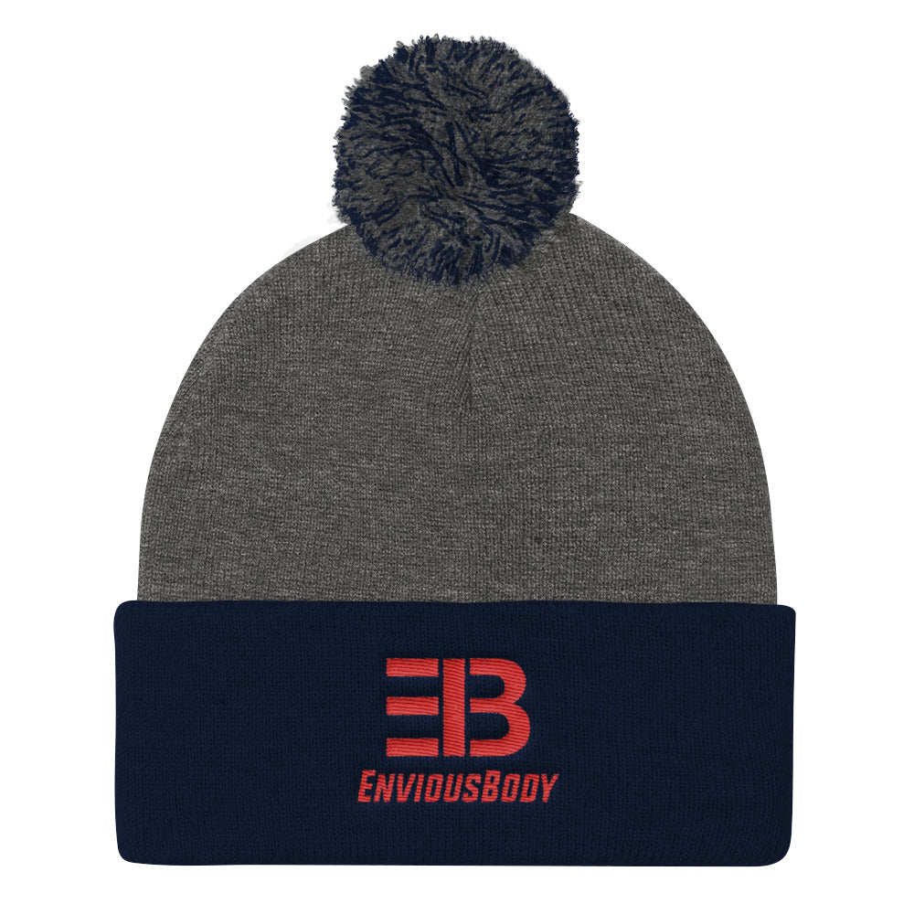 EnviousBody - Pom Pom Knit Beanie - ENVIOUS BODY