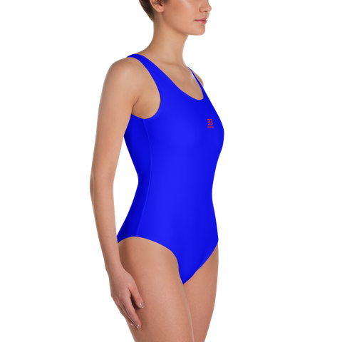 Blue - One-Piece Swimsuit - ENVIOUS BODY