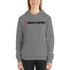 Image of Woman's - Enviousbody Hoodie Side Look Make It Happen Collection