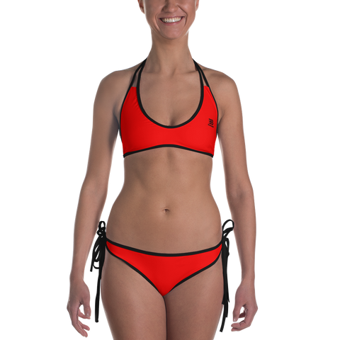 Woman's - EnviousBody Red Bikini
