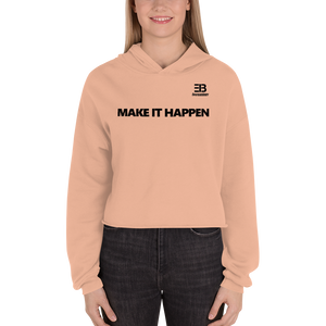 Woman's - Enviousbody Crop Hoodie Fresh Look Make It Happen Collection