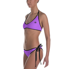 Woman's - EnviousBody Light Purple Bikini