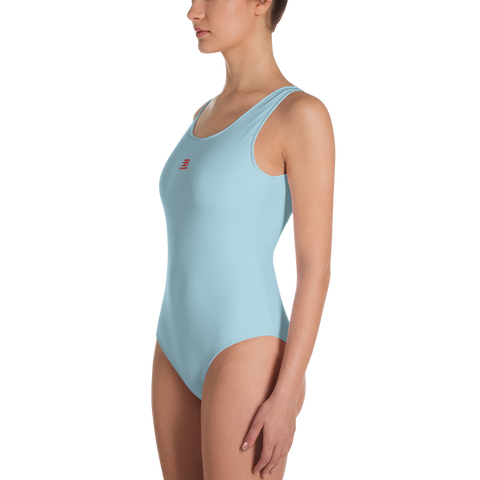 Woman's - Light Blue EnviousBody swimwear