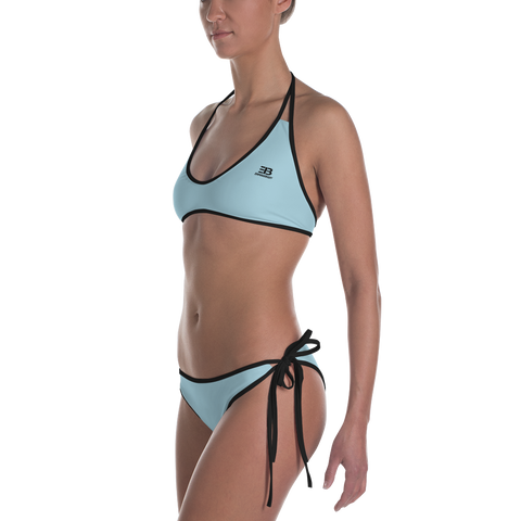 Woman's - EnviousBody Light Blue Bikini